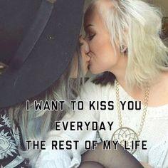 #ShareIG #kissyou #everyday #kiss #forever #love #lesbians #lesbian #cute #loveislove #samelove #instagay