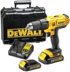 Perceuse à percussion sans fil DEWALT, 18 V Ah, 3 batteries Ks Tools, Work Tools, Batterie Lithium, Usb, Hammer Drill, Drill Driver, Prezzo, White Lead, Bosch
