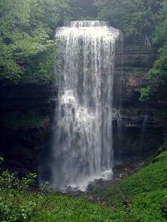 Virgin Falls near Sparta Tennessee