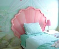This will be my childs Mermaid BedRoom!
