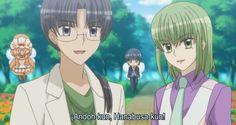 Yumeiro Patissiere Professional Regreso de Ichigo: Andoh-kun (Caramel) y hanabusa-kun (Cafe)