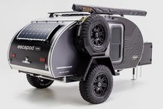 Expedition Trailer, Overland Trailer, Camping In Pa, Teardrop Trailer, Teardrop Campers, Tactical Helmet, Cooling Unit, Modern Garage, Roof Top Tent