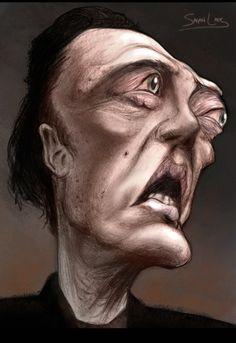 Christopher Walken by ~Stingicide on deviantART Funny Caricatures, Celebrity Caricatures, Celebrity Drawings, Cartoon Faces, Funny Faces, Caricature Drawing, Drawing Art, Great Works Of Art, Famous Cartoons