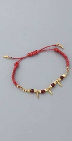 Shashi: Indian Bead Bracelet
