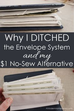 No-Sew Alternative to the Dave Ramsey Envelope System Dave Ramsey Envelope System, Cash Envelope System, Diy Dave Ramsey Wallet, Diy Cash Envelope Wallet, Envelope Budget System, Cash Wallet, Financial Peace, Financial Tips, Financial Planning