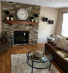 Küchen Design, House Design, Interior Design, Design Room, Home Fireplace, Fireplace Design, Nesting End Tables, Living Room Remodel, Living Rooms