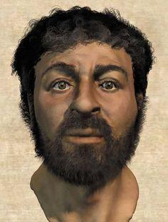 Zo kan Jezus er werkelijk hebben uitgezien. Reconstructie op basis van een schedel uit de tijd van Jezus