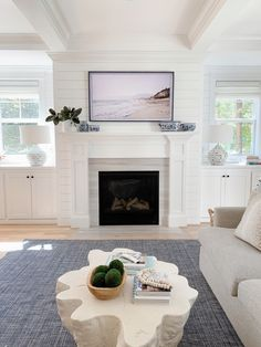 Tv Above Mantle, Above Fireplace Ideas, Fireplace Frame, Fireplace Bookshelves, Home Fireplace, Faux Fireplace, Living Room With Fireplace, Fireplace Design, Fireplaces With Tv Above