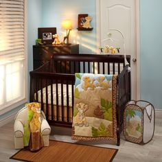 THE LION KING Urban Jungle 4-Piece Crib Bedding Set