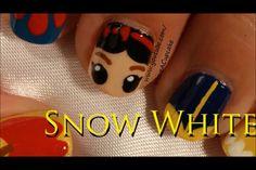 IHaveACupcake Snow White nail art