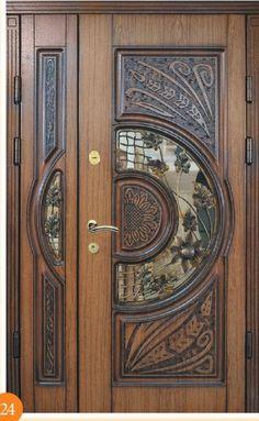 Very beautiful Period front door - April 27 2019 at Wooden Front Door Design, Door Gate Design, Room Door Design, Wood Front Doors, Door Design Interior, House Front Design, Modern Wooden Doors, Main Entrance Door, Exterior Doors