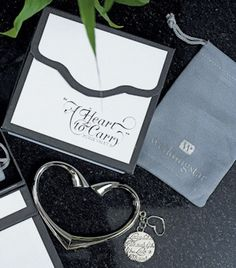 'A Heart to Carry' Personalized Purse Valet with Gift Box from Wedding Favors Unlimited