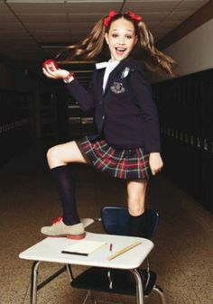 Maddie Ziegler as 'The Teacher's Pet'- Dance Track photoshoot
