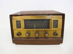 Vintage Tubed Radio 'The Fisher' Model 500 150 W