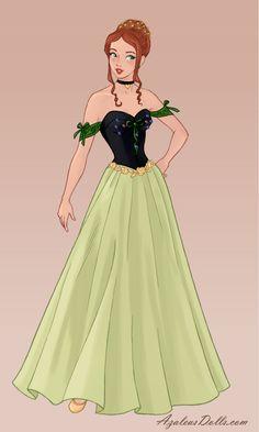 Wedding-Dress - Anna by on DeviantArt dresses disney tiana - Hobbyist, General Artist Disney Wedding Dresses, Disney Princess Dresses, Princess Art, Cinderella Dresses, Disney Dresses, Designer Wedding Dresses, Cinderella Wedding, Dress Design Drawing, Dress Drawing