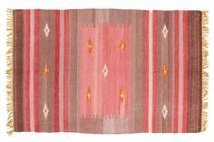 Kelim Indiaas Vloerkleed Rechthoekig 623292 Tapijt