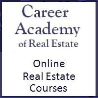 CARE / Career Academy of Real Estate offers the 60 hour approved online real estate course.  Visit our website and start today, there is no other career you can enter that gives you so much income potential for such a small investment.