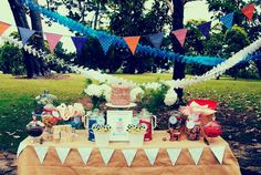 """""""What are Little Boys Made of"""" Birthday Party - Kara's Party Ideas - The Place for All Things Party"""
