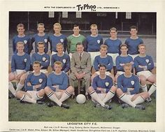 Image result for Leicester city team 1961