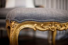 Gray with Gold: This is a good idea especially with regards to keeping it clean! And I like lightly ornate and regal.