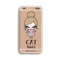 Capinha Para Celular Carllota Cat Lover