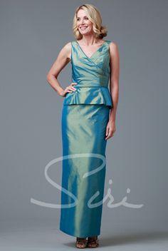 dd1d9f527875 Siri Bridal – 9231 Adele Peplum Gown available at Carrie Karibo Boutique  Cincinnati, Ohio www