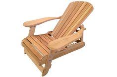 Chaise Adirondack inclinable en cèdre rouge |Ogni