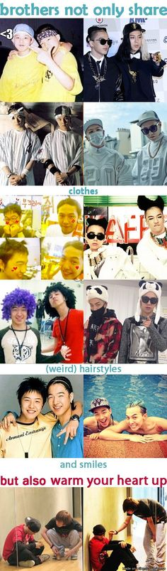 one of the best friendship ever ♡ GD & Taeyang