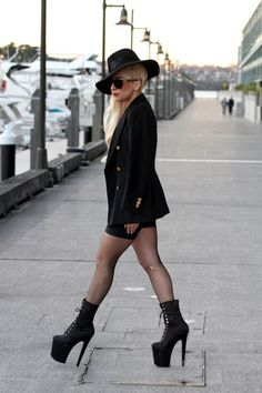 Lady Gaga in Sydney for her Born This Way Ball Tour