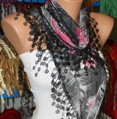 Etsy Cotton Scarf  $15.00 Fatwoman