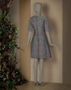 ドレス アワーグラスライン ブロケード - 七分丈ドレス - Dolce&Gabbana - 2015冬コレクション ¥ 372,600