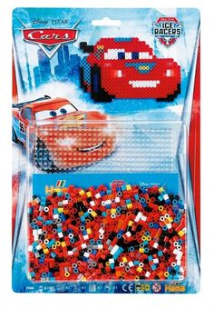 Disney-Pixar Cars Ice Racers Starter Pack 7988 Hama Beads Disney Collection Lightening McQueen Hama Beads Disney Collection