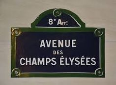 Travel With MWT The Wolf: World Famous Streets  Avenue de Champs elysee Pari...