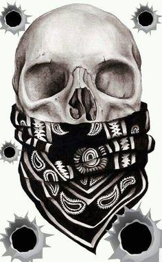 Resultado de imagem para skulls drawings