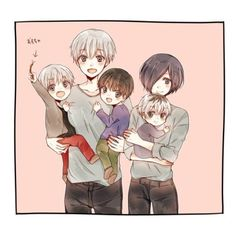 Kaneki x Touka // TouKen Family