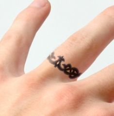 ring fingers tattoo designs
