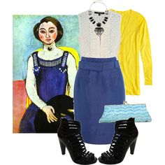 Art Inspired Outfit: Henri Matisse, created by georgina-m on Polyvore