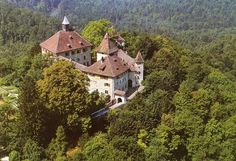 Schloss Kyburg, Switzerland. The largest castle in eastern Switzerland, dating back to the Middle Ages. Now a museum. Checked (2012)!