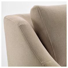 IKEA - FÄRLÖV Sectional,5 seat/sofa right Flodafors beige