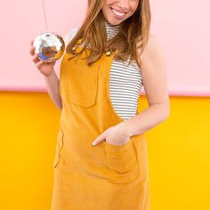 Jump into Spring With This One-and-Done DIY Overall Dress