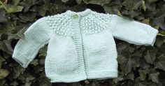 This sweater is yet another adaptation of the 5 Hour Baby Sweater originally posted on Knit List. There are several adaptations on Bev's ...