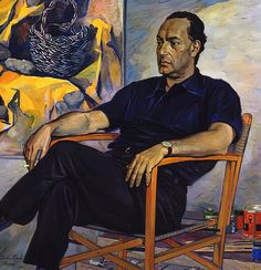 Korin, Pavel (1892-1967) - 1961 Portrait of the Artist Renato Guttuso by RasMarley, via Flickr