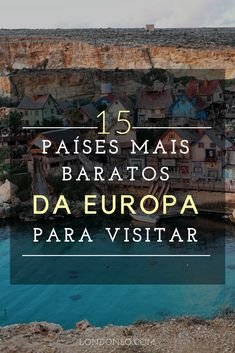 Conheça 15 países dos mais baratos da Europa para visitar sem gastar além do que pode ou deve. #viagem #turismo #europa