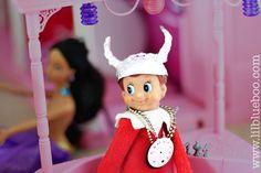 Flava Flav Elf on the Shelf via lilblueboo.com #inappropiateelf #elfontheshelf #elf