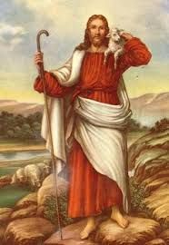 Jesus Christ and His Lamb