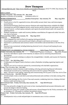 NASA Student Co-oP Resume Sample - http://resumesdesign.com/nasa ...