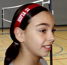 Custom name volleyball hairbands byu SoLi custom Sport Hairband #volleyball #beach Volleyball #volleychick