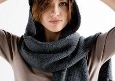 c728d206d86e 27 meilleures images du tableau Cagoule   Cowl scarf, Knitting ...