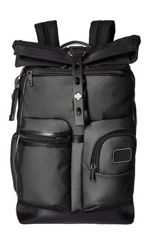 Tumi Alpha Bravo Luke Roll-Top Backpack (Reflective Silver) Backpack Bags - Tumi, Alpha Bravo Luke Roll-Top Backpack, 0223388RS2-035, Bags and Luggage Backpack, Backpack, Bag, Bags and Luggage, Gift - Outfit Ideas And Street Style 2017