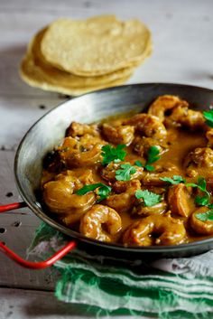 Coconut Prawn Curry. Wow! #food #yummy For guide + advice on healthy lifestyle, visit http://www.thatdiary.com/